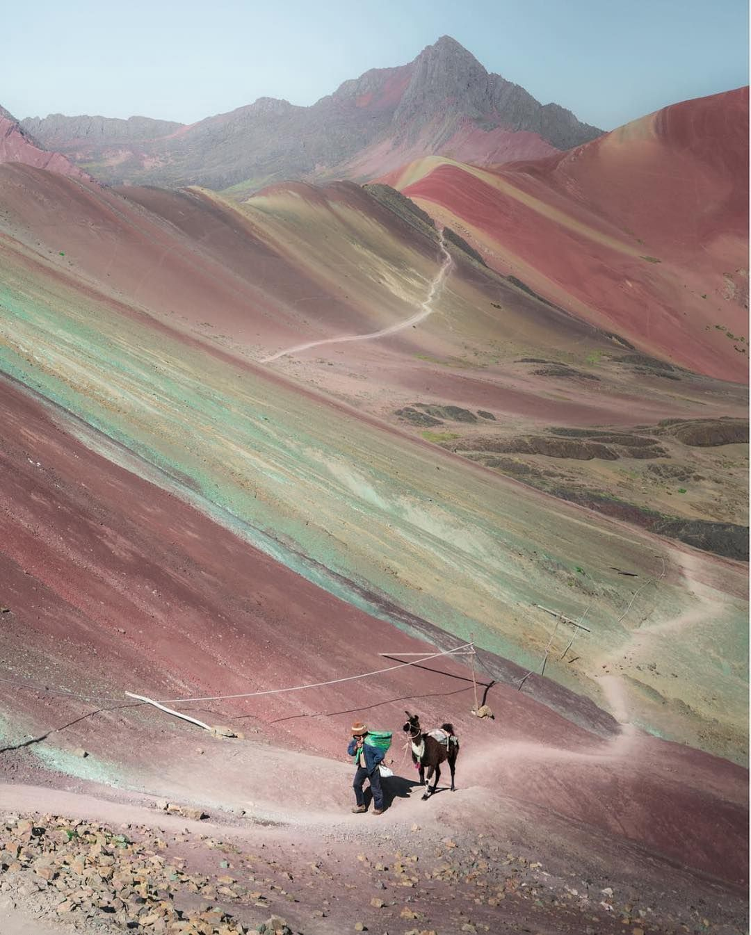 Welcome To Rainbow Mountain In Peru It S Official Name Is Cerre