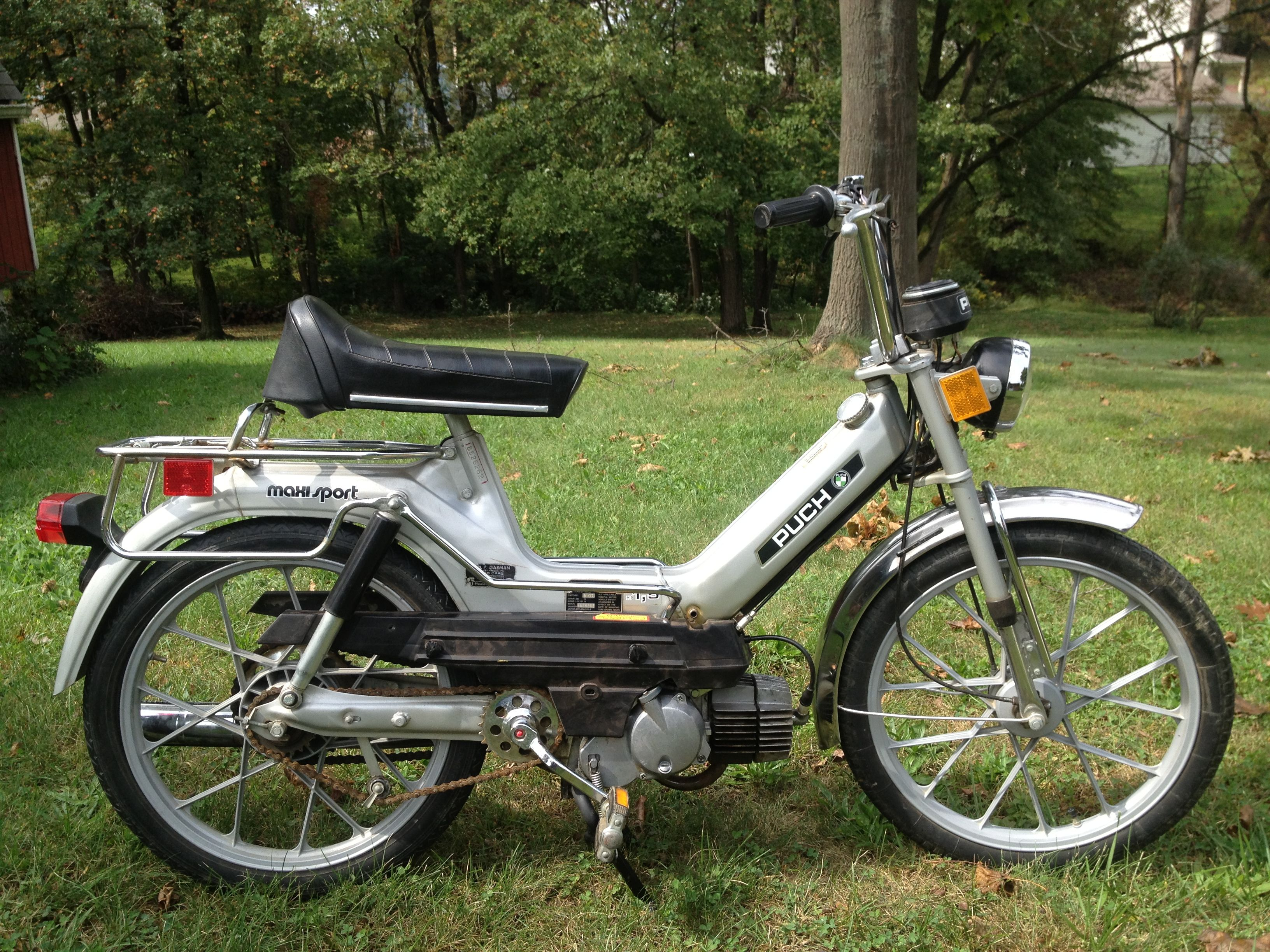 1977 Puch Maxi Sport Vintage Moped Moped Motorcycle Moped
