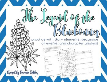 Legend of the Bluebonnet worksheets | Pinterest