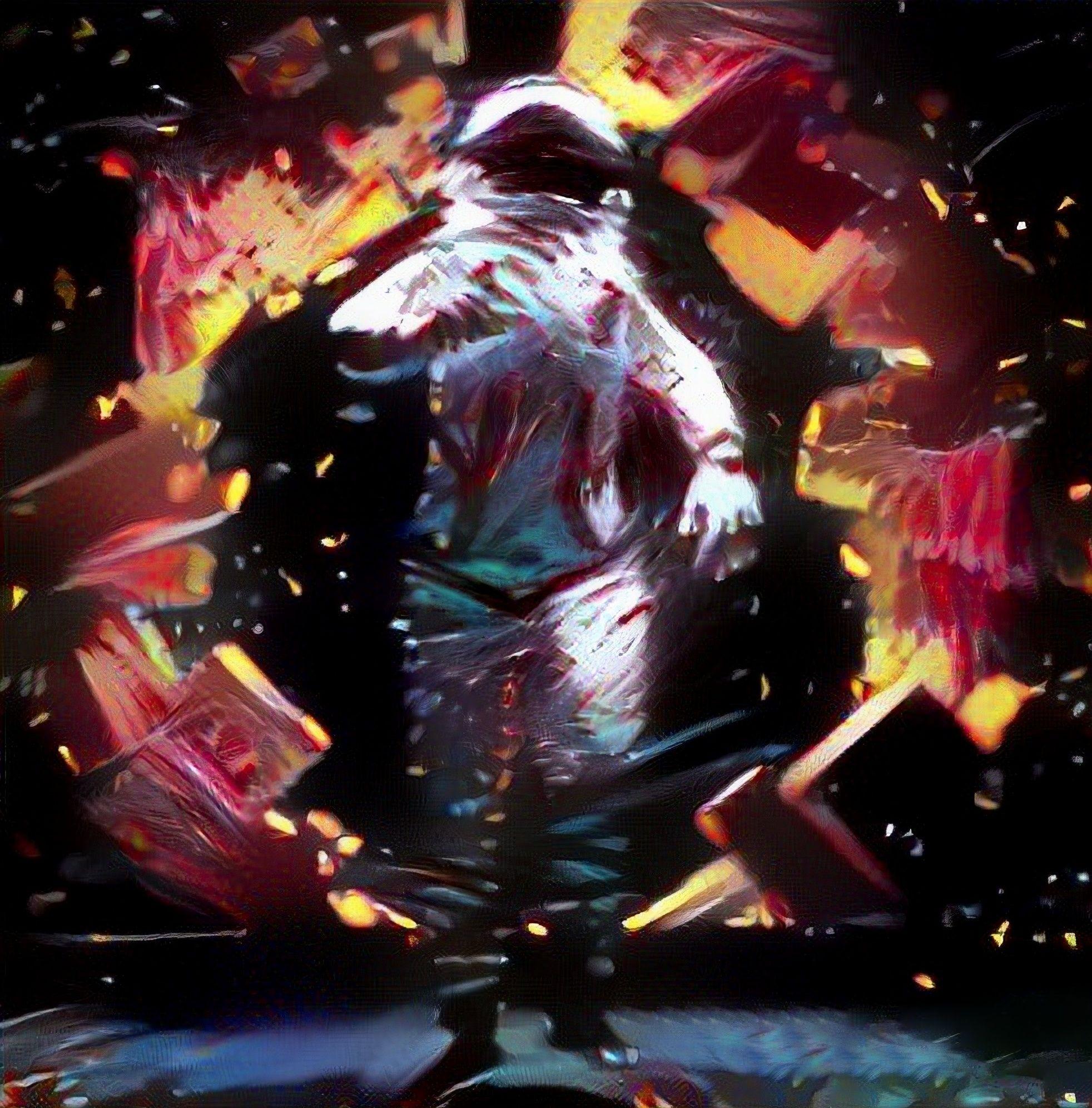 VR Art vrhuman Astronaut Artwork painting virtual reality