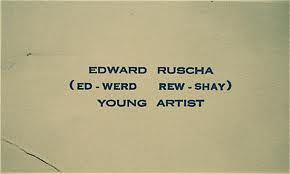 young artist business card