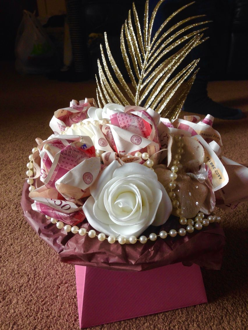 Money Rose Parcel Made This For Indian Wedding Gift