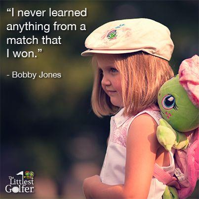 Bobby Jones . #startyoungerplaylonger #thelittlestgolfer