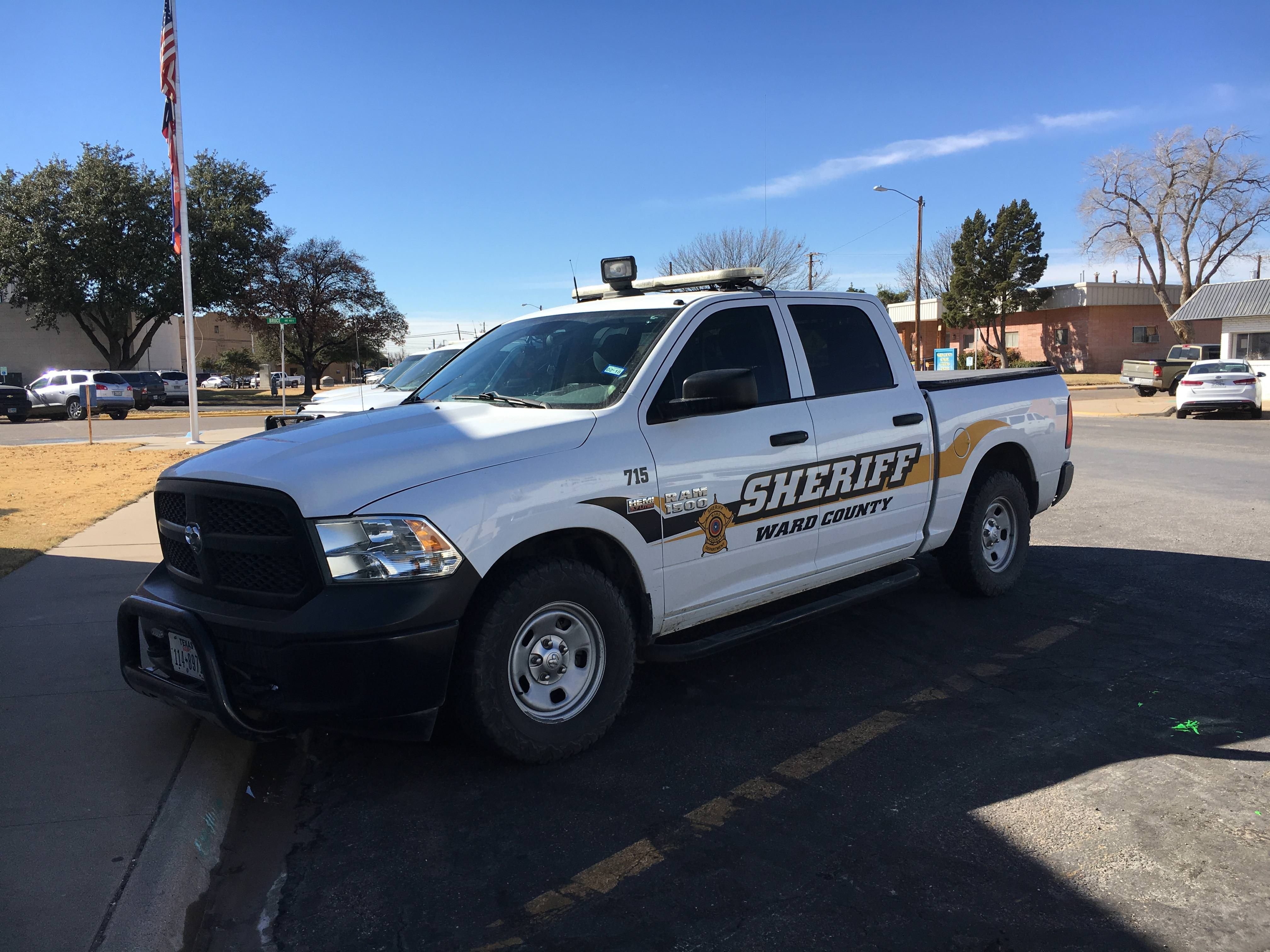 Ward County Sheriff S Office Ram Truck Texas Police Truck Emergency Vehicles Police Cars