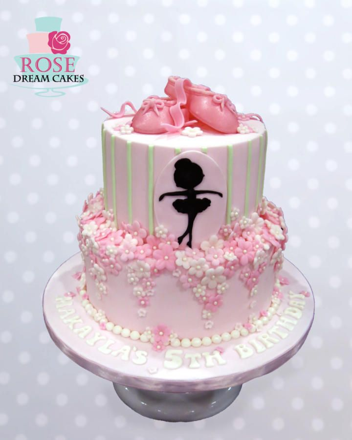 Ballerina cake by rose cakes cake decorating daily for Ballerina cake decoration