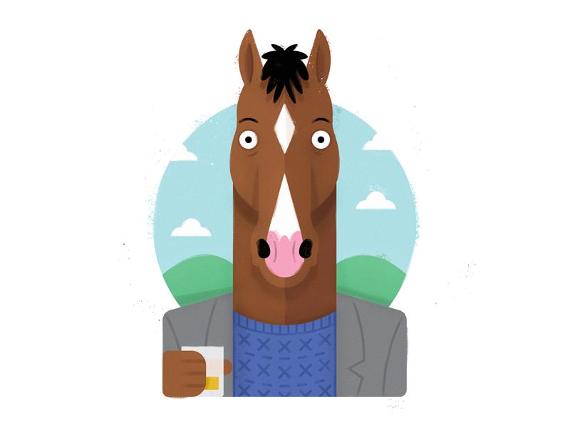 Bojack Horseman Bojack Horseman Horseman Cartoon Art