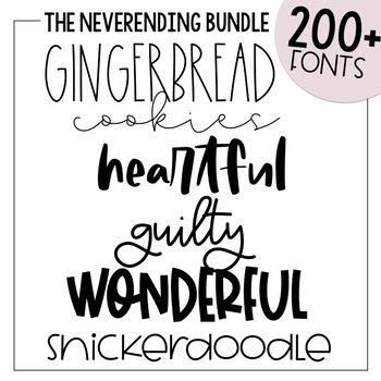 Download KA Fonts Endless Font Bundle - 400+ Fonts - Growing Bundle ...