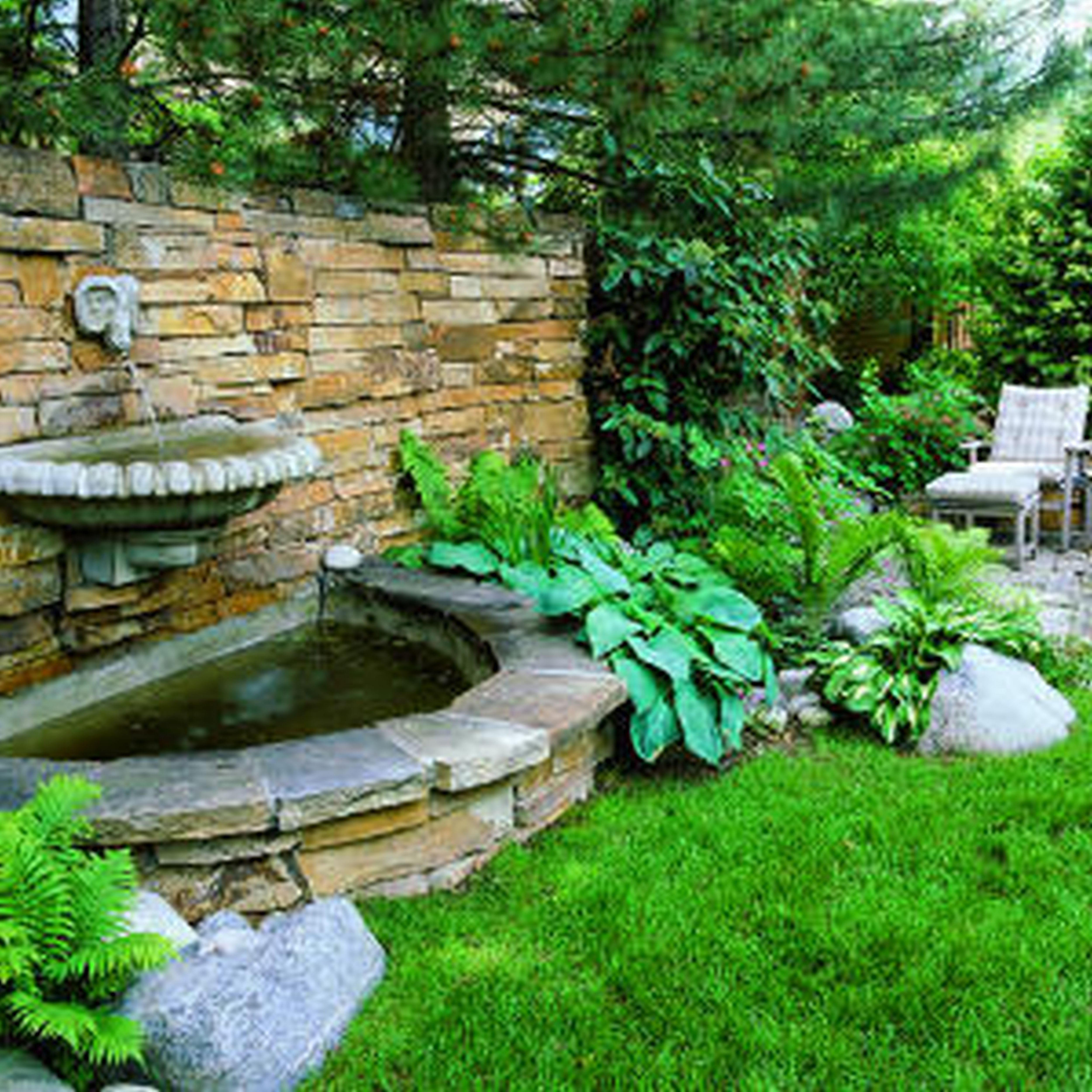 pictures of rustic landscaping ideas | Backyard Landscape Ideas Stone Amazing Landscaping Inspiration Unusual ...