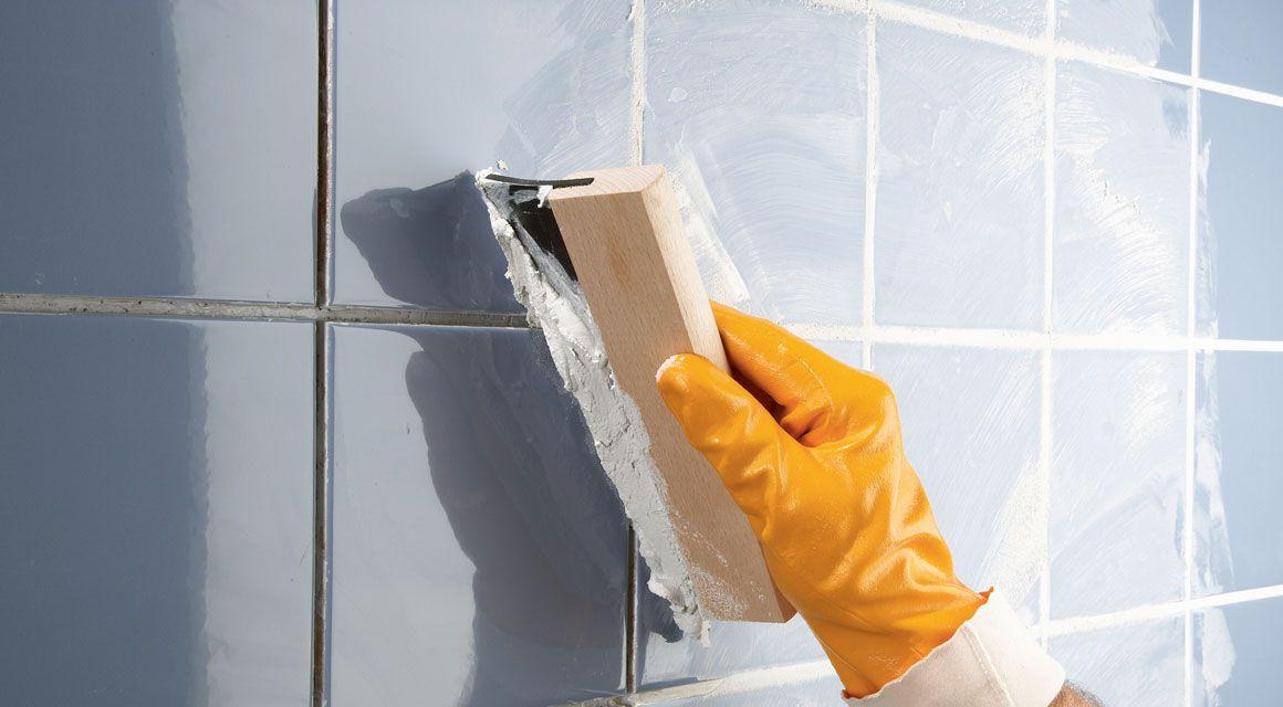 Bad renovieren Fliesen, Fugen, Dusche Badezimmer