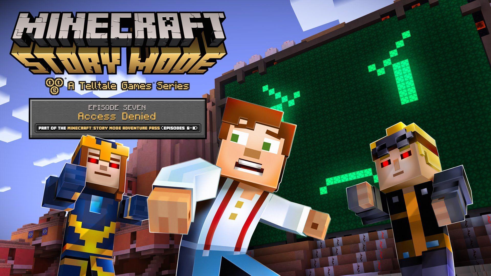 Minecraft Story Mode Episode Access Denied Trailer YouTube - Minecraft ahnliche spiele iphone