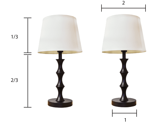 How To Choose the Right Size Lamp Shade | Apartment Therapy