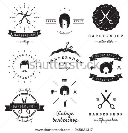 Barber Shop Decal Style