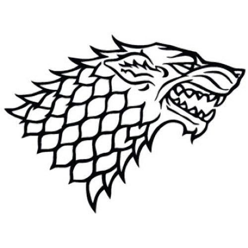 50+ Game of thrones wolf clipart info