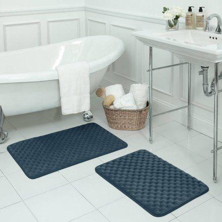 Bounce Comfort Premium Extra Thick Memory Foam Bath Mat Massage