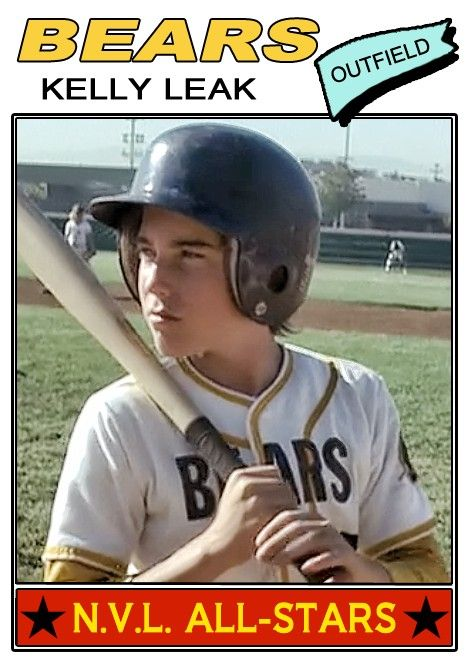 Kelly Leak Topps (1976) Bad News Bears | The bad news bears, Movie card,  Bad news