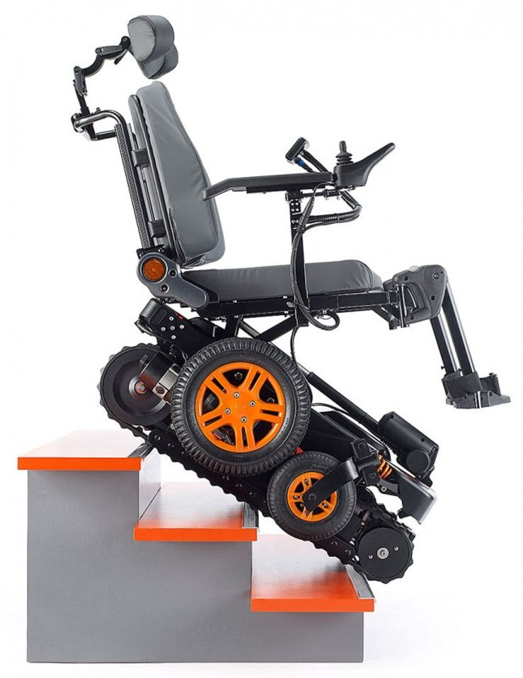 The Stair Climbing Wheelchair - IPPINKA | Wheelchairs design, Stair climbing,  Electric wheelchair