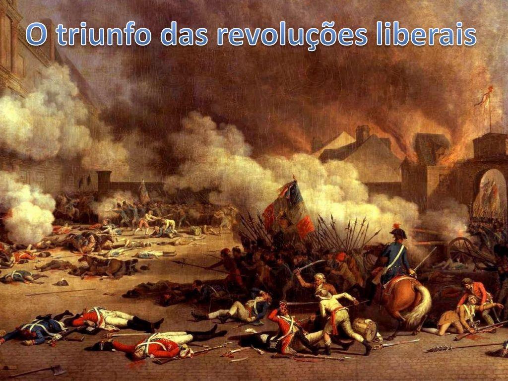 o-triunfo-das-revolues-liberais by Carlos Pinheiro via Slideshare