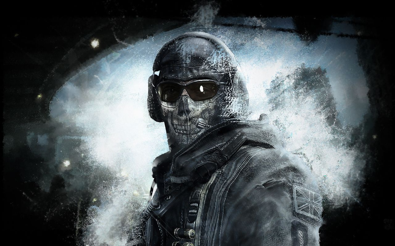 Cod Ghosts Theme | Call Of Duty Ghost Wallpaper HD #8469 Wallpaper ...