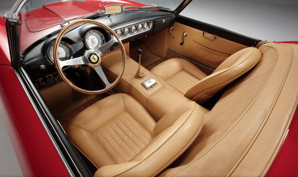 Ferrari 250 GT California SWB Spyder 1962 interieur | Ferrari ...
