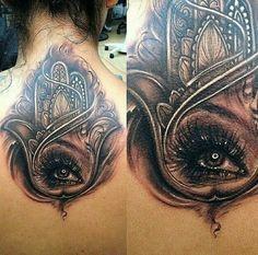 Fatimas Hand Tattoo Inkspiration