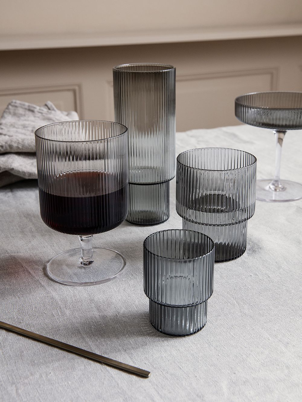 Ferm Living S Founder Trine Andersen We Want To Make You Feel Comfortable At Home Ferm Living Modern Tableware Drink Glasses Set