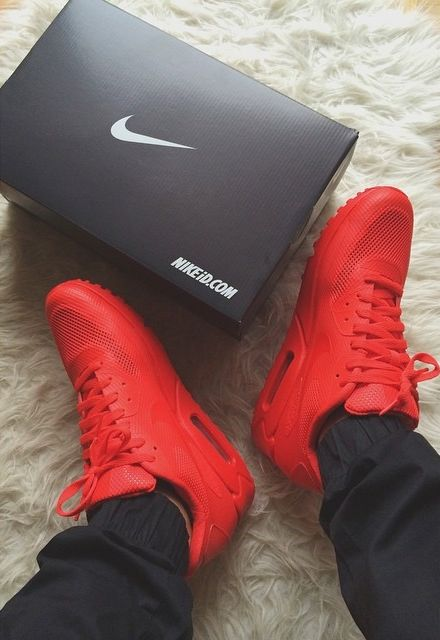 nike air max 90 yeezy red