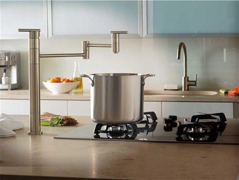 Danze Parma Pot Filler Kitchen And Bath Design Island With