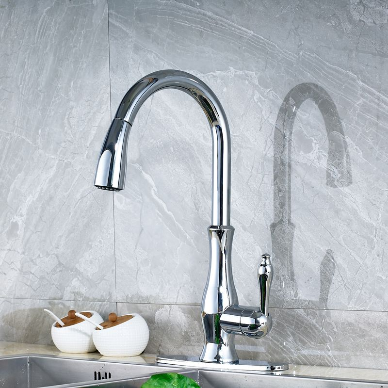 Wholesale And Retail Countertop Kitchen Sink Faucet Single Handle
