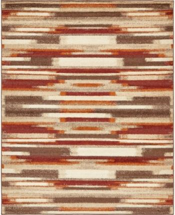 Bridgeport Home Jasia Jas03 Multi 8' x 10' Area Rug - Multi