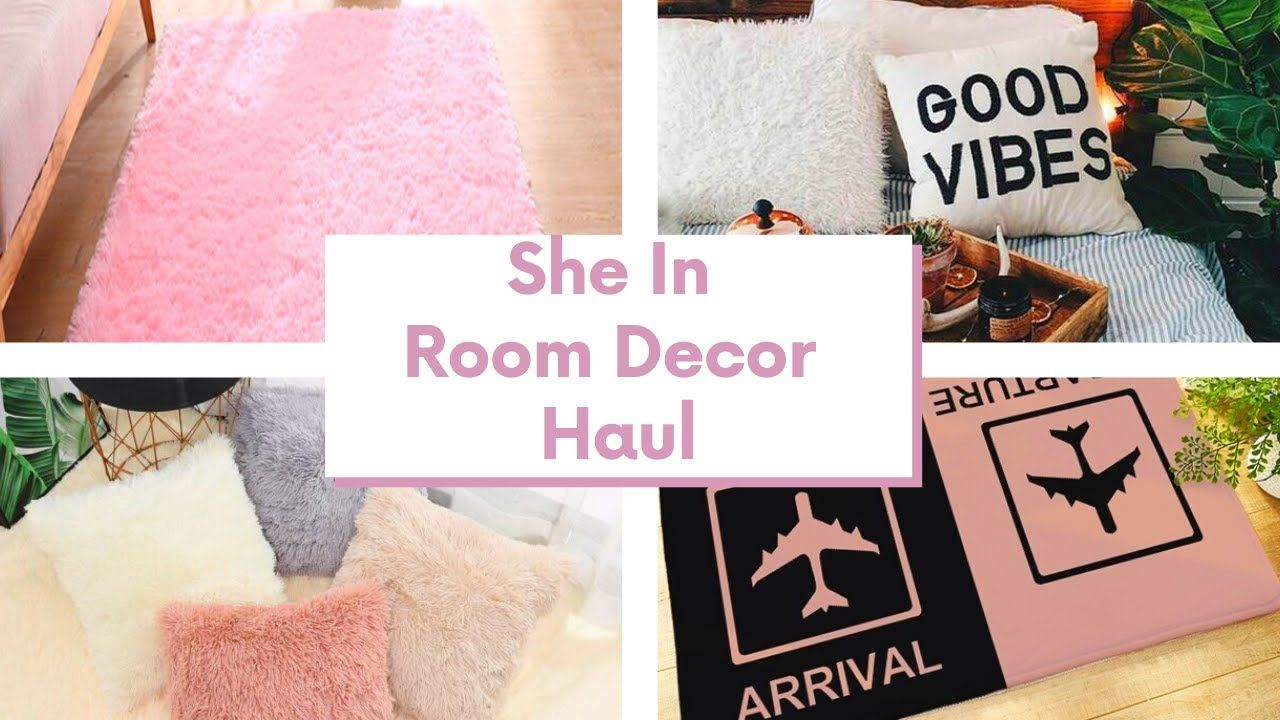 SHEIN ROOM DECOR HAUL  EVERYTHING UNDER 15  CUTEST DECOR EVER