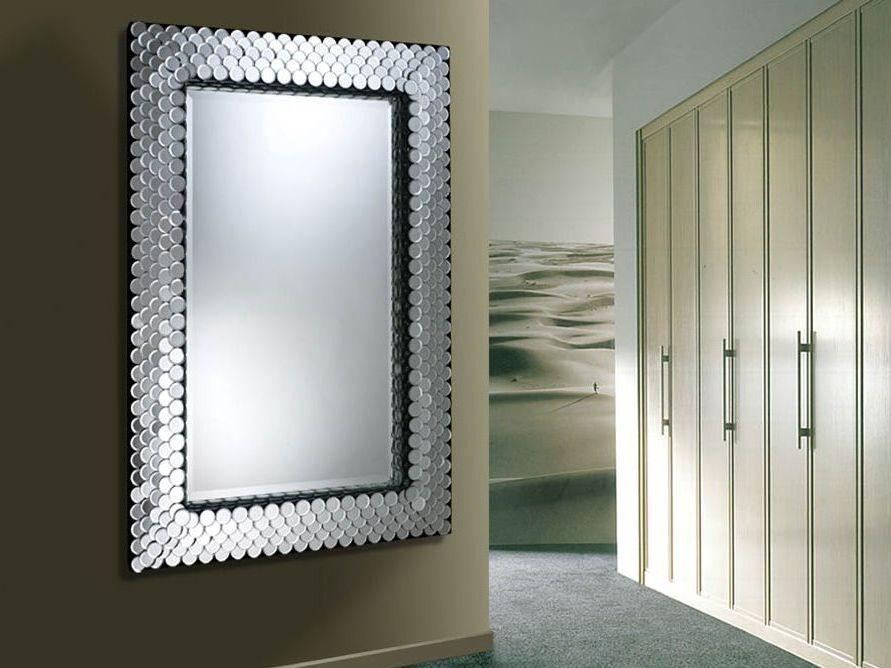 Espejos modernos de cristal espejos modernos de cristal for Espejos redondos decorativos modernos