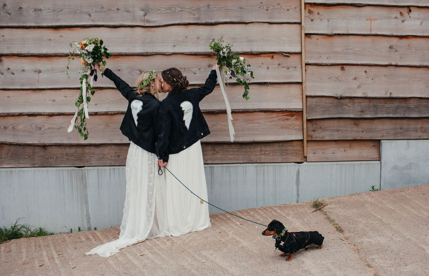A beautiful bohemian farm wedding with homemade décor tattoo