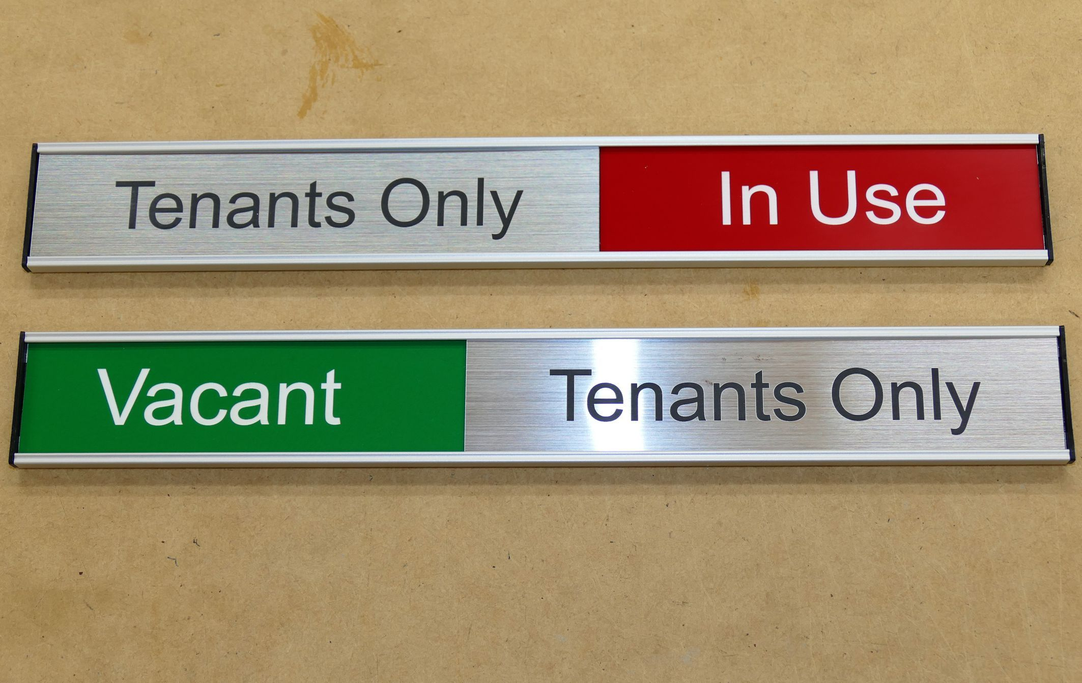 meeting room sliding sign 40 mm 1 6 x length chosen meeting rooms