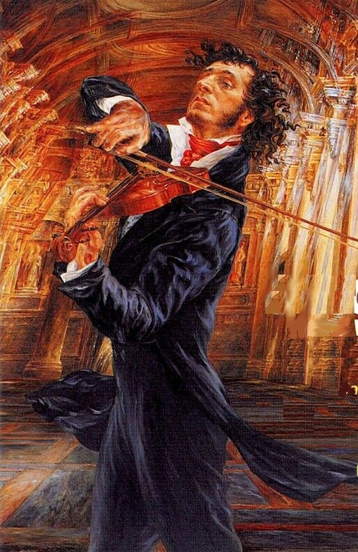 The Dark Magic of Niccolò Paganini (con imágenes) | Arte y musica ...
