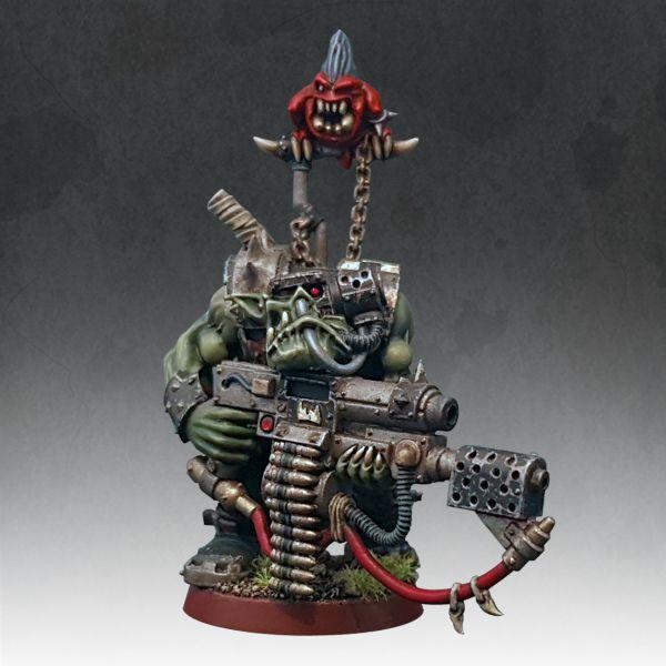 Warhammer 40K Goff Ork Nob