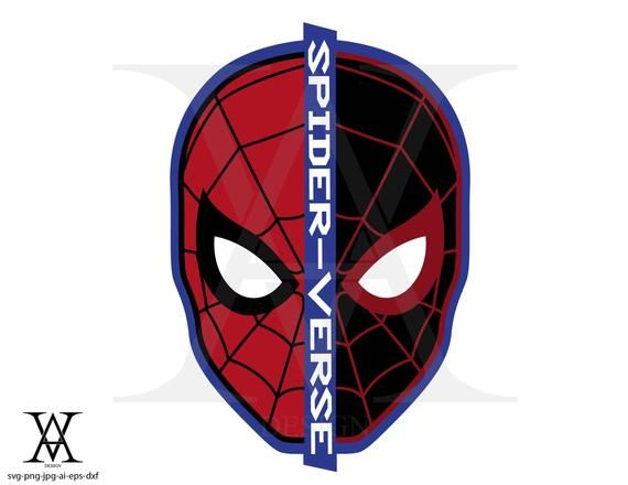 The Purchase Includes A Zip File 1 Svg 1 Png 1 Jpg 1 Dxf 1 Ai 1 Eps When You Make The Purchase Using Paypal Etsy It T Spiderman Miles Spiderman Spiderman Face