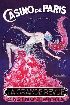 Vintage Burlesque illustration