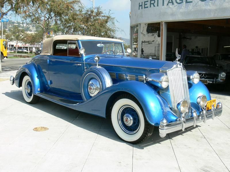 Packard 1404 SUPER 8 COUPE ROADSTER Packard cars