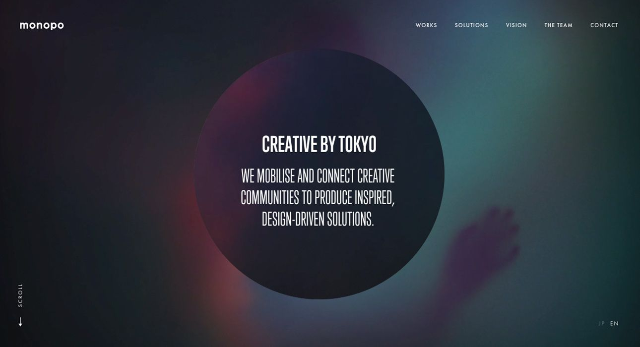 1377a80784 monopo is a Tokyo-based creative agency. We deliver design-driven solutions  through digital experiences, branding, advertising and video production.