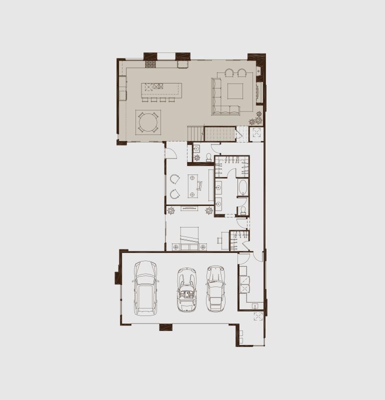 Sky Terrace Blue Heron Floor Plans Custom Homes House Design
