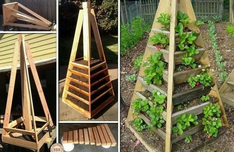 Trellis Tower Garden Structures and Building Ideas