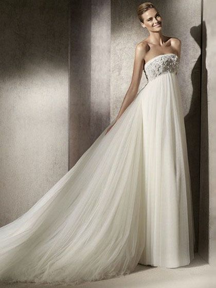 Diana-Vestido de Noiva em tule - dresseshop.pt