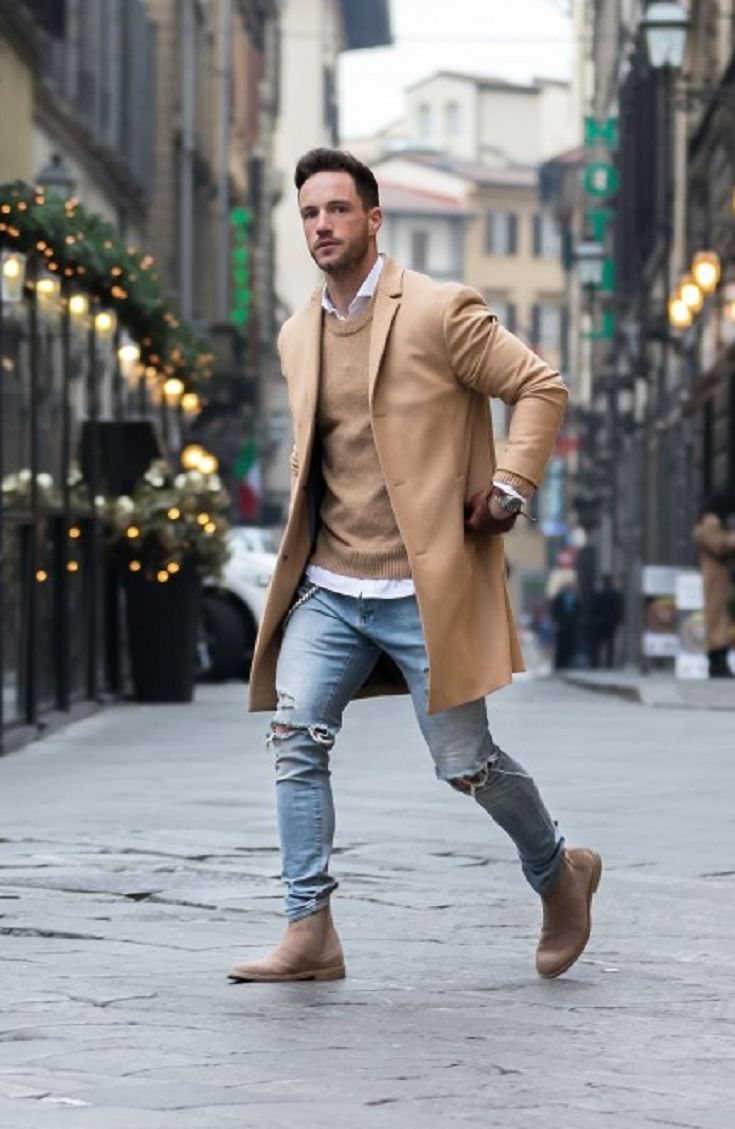 winter/spring transitional men's fashion and outfit ideas | burning