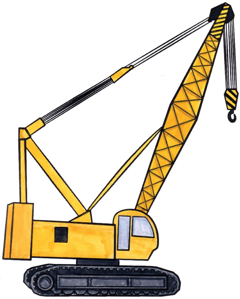 Image result for crane drawing