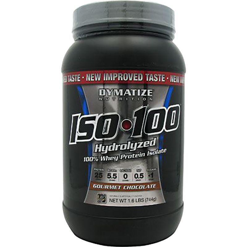Dymatize iso100 hydrolyzed whey protein powder chocolate