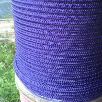 "Dacron Dbl Braid Sail Lead Rope 1 2"" x 42' Purple | eBay"