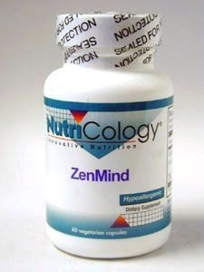 Nutricology- ZenMind 60 vcaps