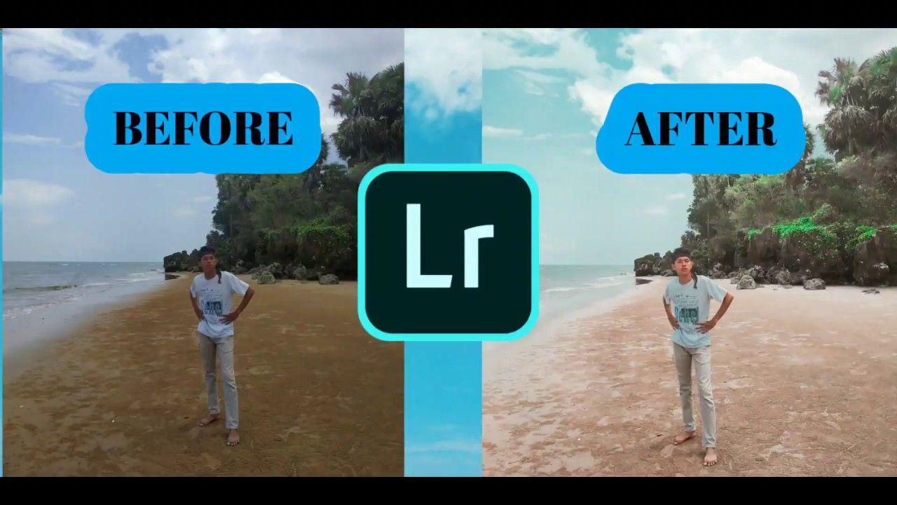 Cara Edit Foto Pantai - Tutorial Lightroom Mobile UNTUK ...