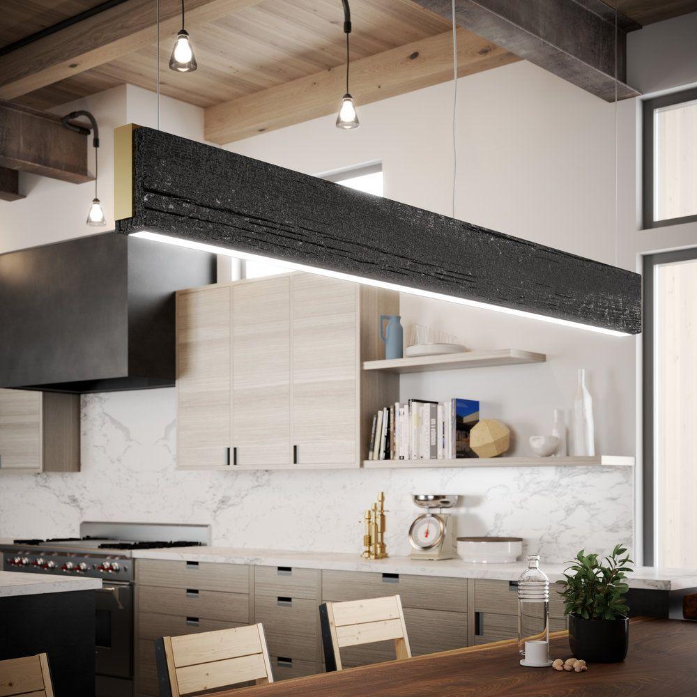 Shou Sugi Ban Light Fixture Orcas Island Residence New Home Designs Design Residences