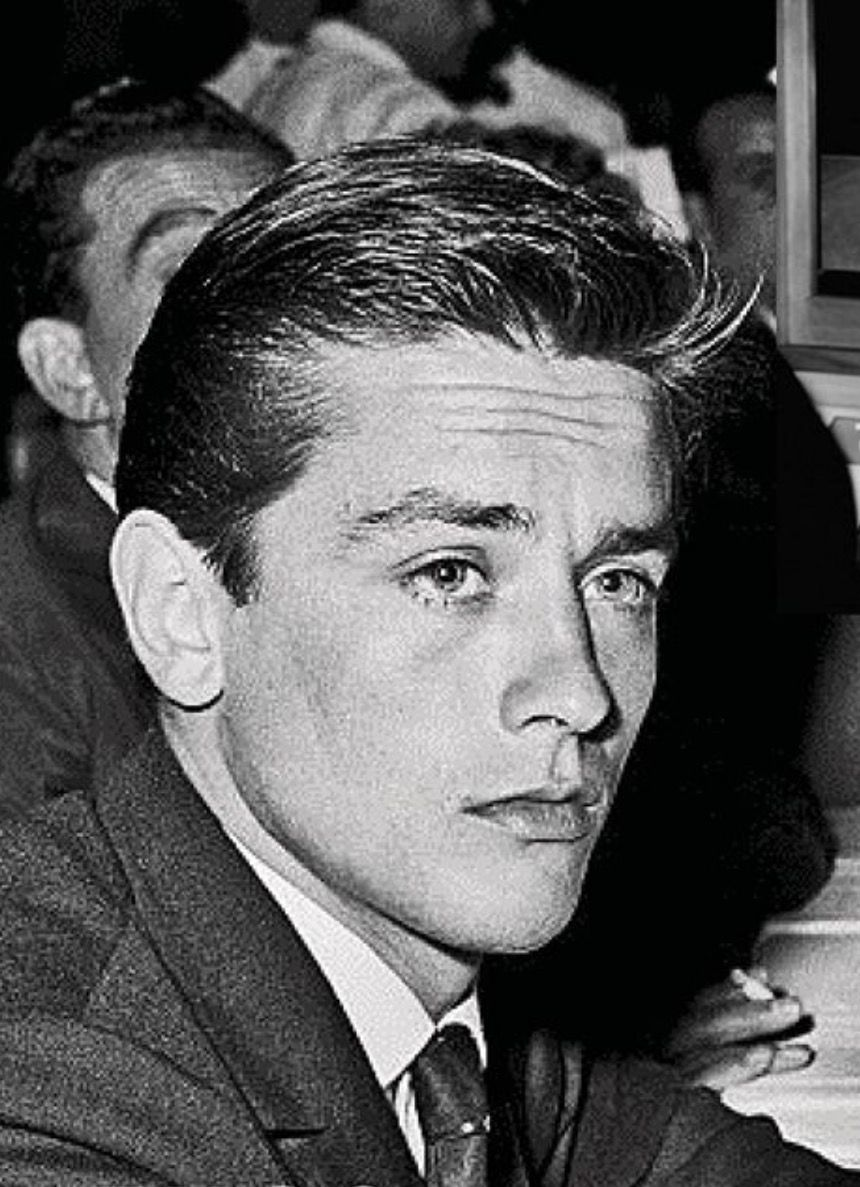 Alain Delon young | Al...